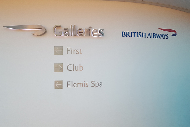 Galleries Lounge - BA Business Class Review | Just Fly Buisness