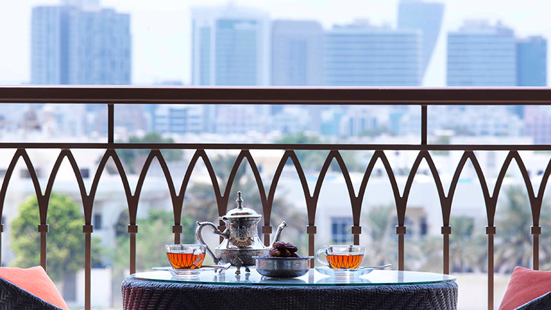 Balcony View - Anantara Eastern Mangroves Hotel | Just Fly Business