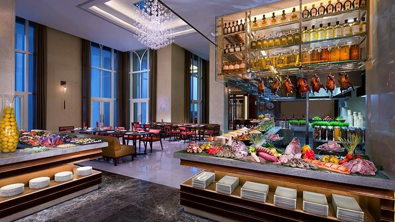 Buffet Restaurant - Anantara Eastern Mangroves Hotel | Just Fly Business