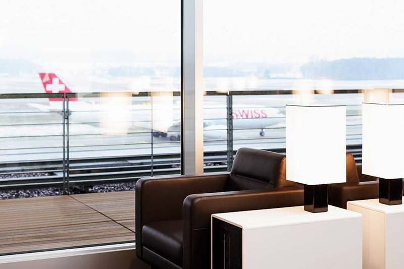 Business Class Lounge for Swiss Air Business Class | Just Fly Business