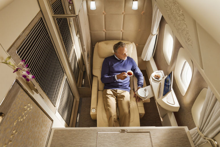 Emirates Airlines First Class Suite | Just Fly Business Blog