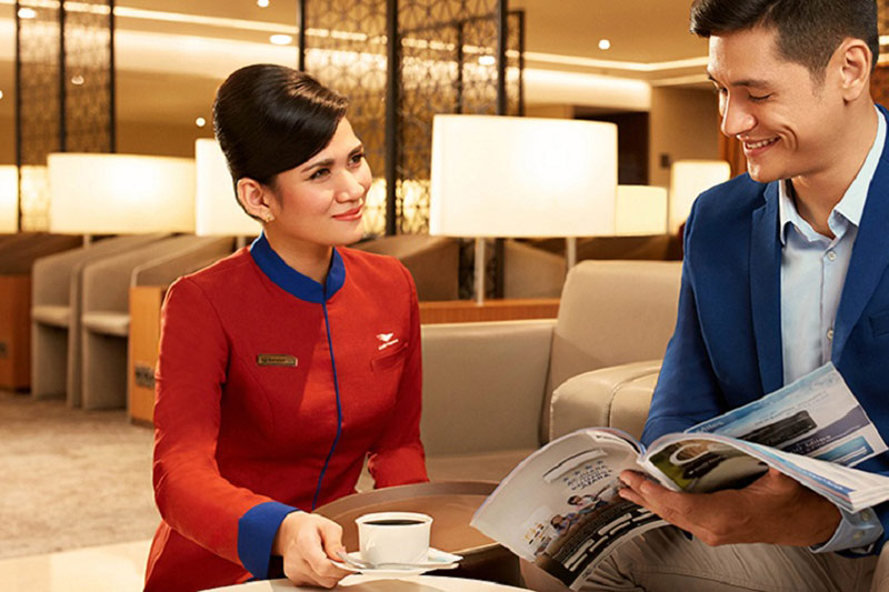 Garuda Lounge - Garuda Indonesia Business Class | Just Fly Business