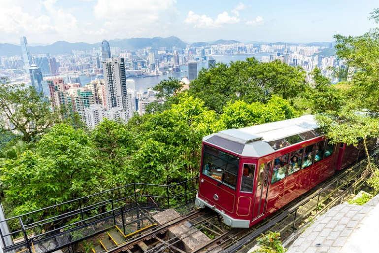 View over Hong Kong from Victoria Peak, Hong Kong