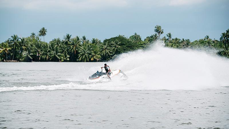person enjoying jet skiing at Avani Kalutara Resort, Sri Lanka