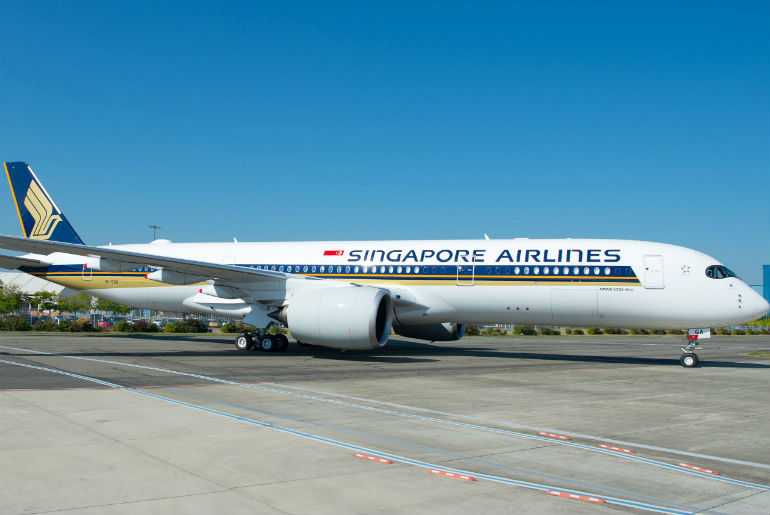 Singapore Airlines A350-900 Ultra Long Range