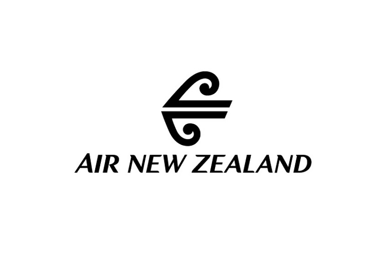 The logo of Air New Zealand