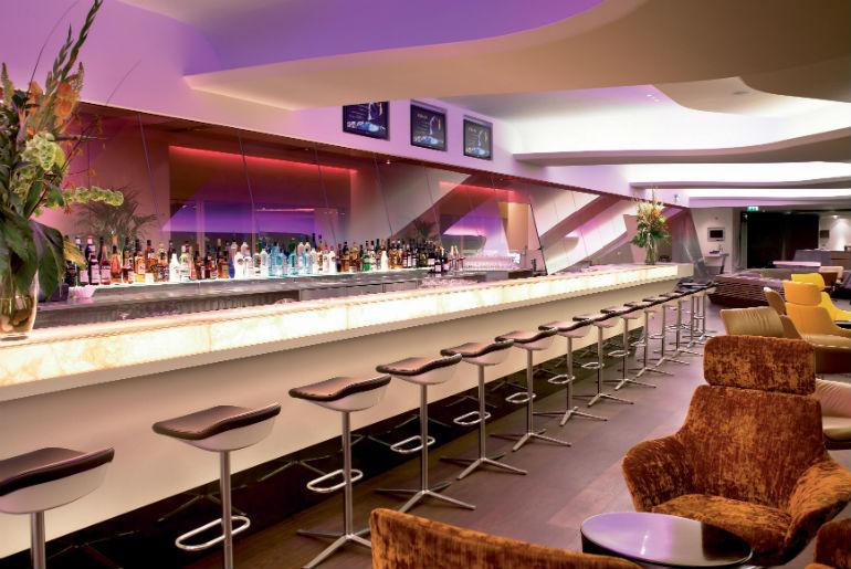 JFK lounge, Virgin Atlantic, New York