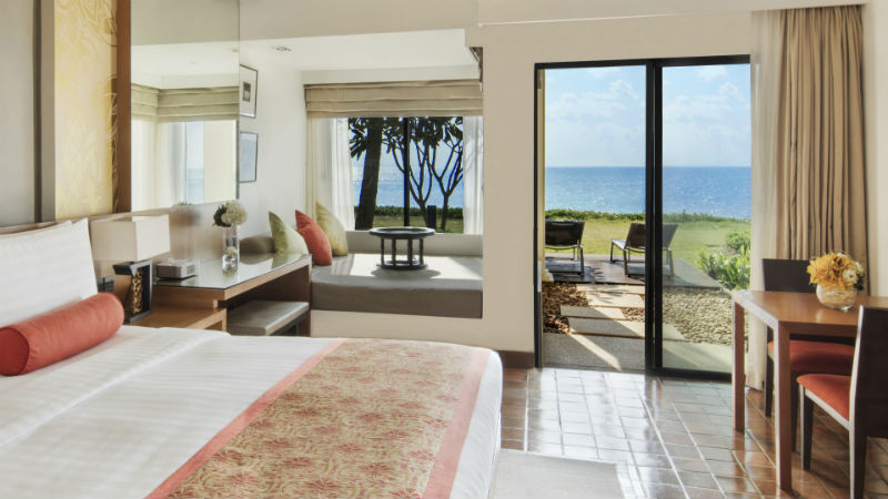 Oceanfront Terrace, Outrigger Laguna, Phuket