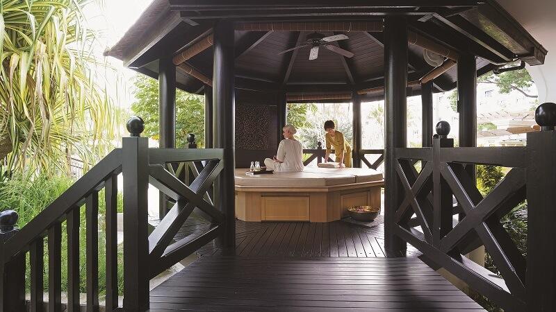 Spa treatment facilities at Shangri La Rasa Sentosa Resort & Spa, Singapore