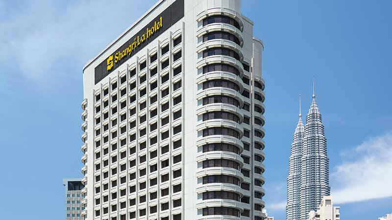High Rise Shangri-La-Hotel building during the day in Kuala Lumpur