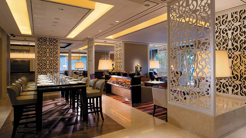 Horizon Club Lounge at the Shangri-La-Hotel, Kuala-Lumpur