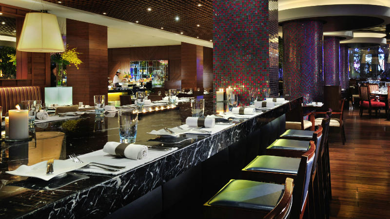 Mosaic Restaurant at the Sofitel Shanghai Hyland