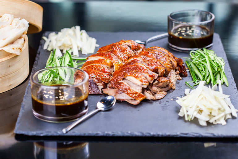 Peking Duck platter