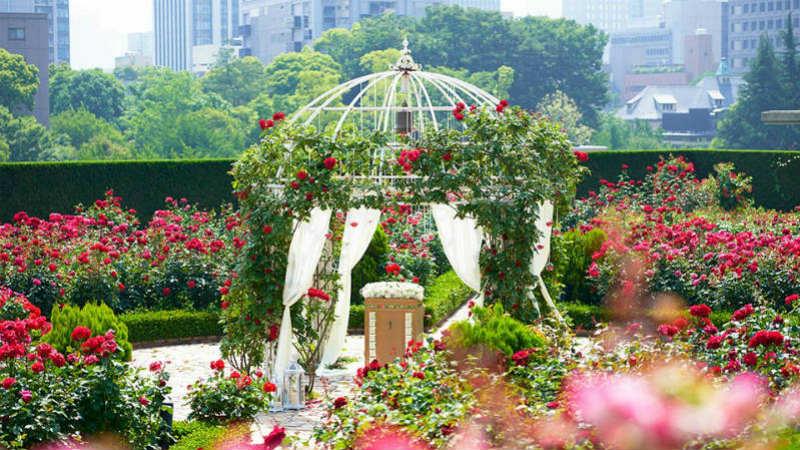 Rose Garden, Hotel New Otani Tokyo