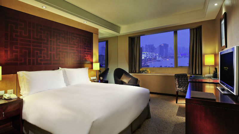 Superior Room Club Sofitel over looking Shanghai Bay