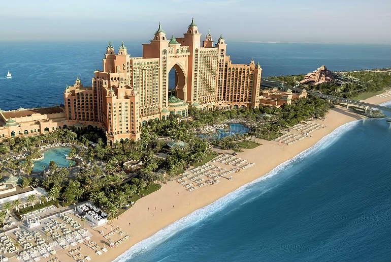 View of Atlantis, The Palm in Dubai