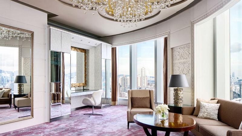Luxury Bridal room at the Cordis Hong Kong