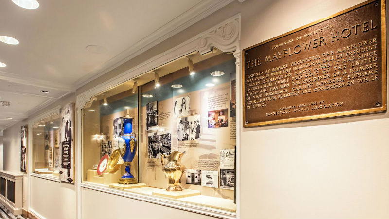 Historic Gallery at The Mayflower Hotel Autograph Collection