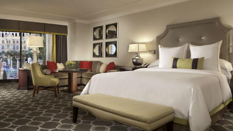 Octavius Premium Room at the Caesars Palace hotel