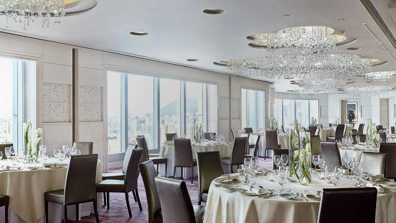 The Western banquet room at the Cordis Hong Kong
