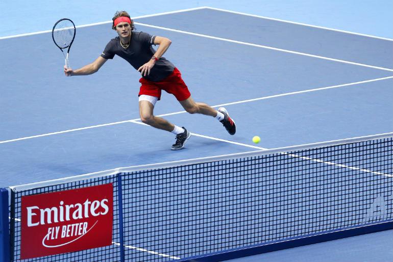 Zverev the winner of the Emirates, Partner of the ATP World Tour
