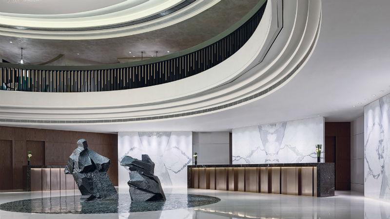 Cordis Hong Kong main lobby area