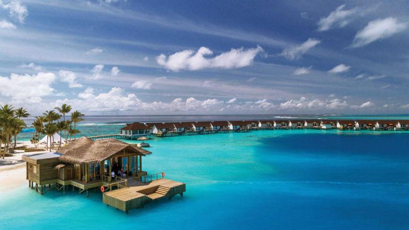 Arrival Jetty Oblu Sangeli Maldives