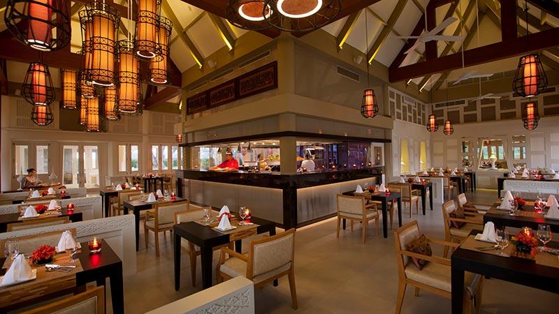 Interior of Baan Talay Restaurant at Angsana Laguna Phuket