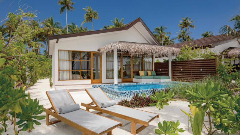 Beach Family Suites with Pool Oblu Sangeli Maldives