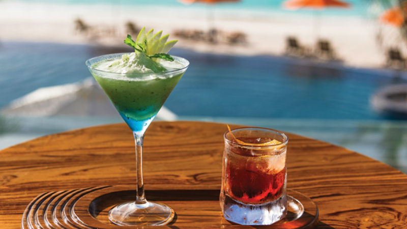 Cocktails at Oblu Sangeli Maldives