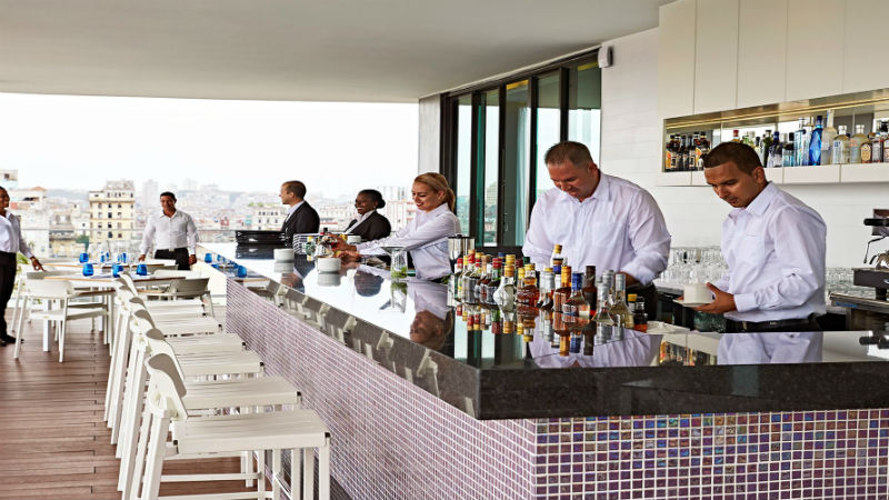 El Surtidor bar - Gran Hotel Manzana Kempinski La Habana
