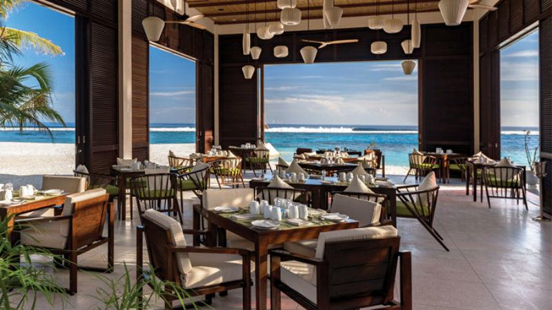 Restaurant Oblu Sangeli Maldives