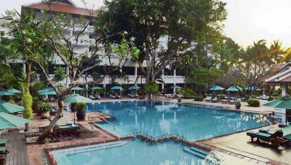 Riverside Pool at the Anantara Riverside Bangkok