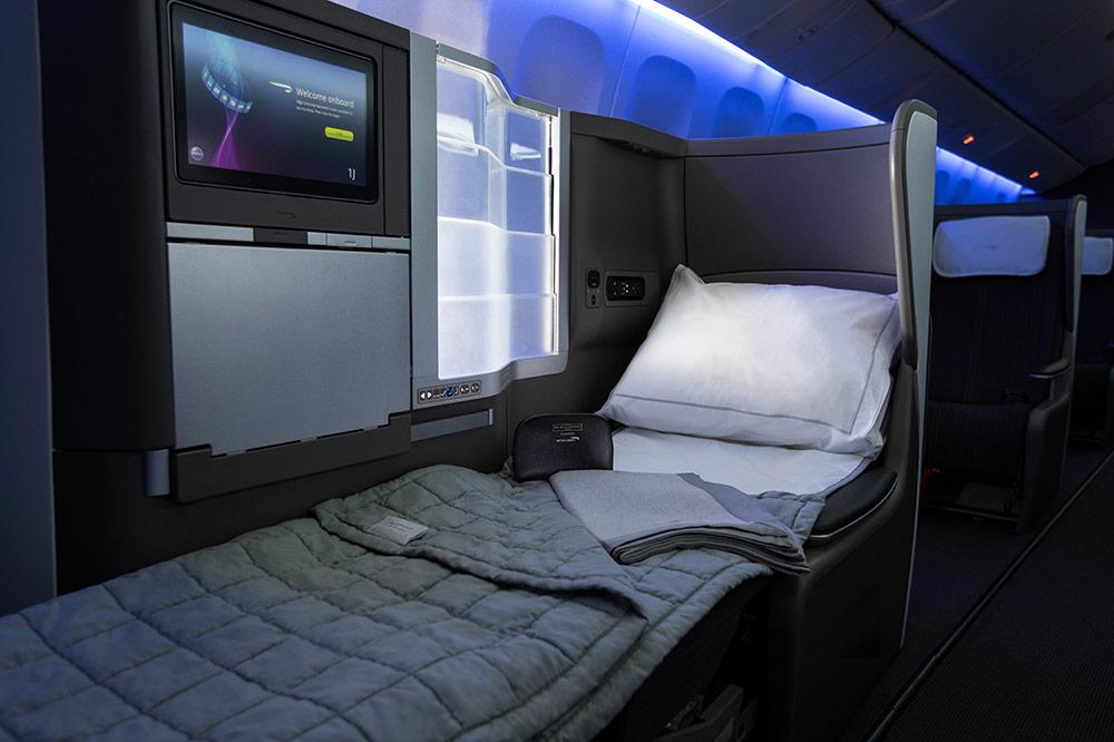 British Airways 787 Dreamliner Club World seat