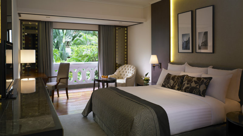 The Deluxe Room at the Anantara Riverside Bangkok Resort