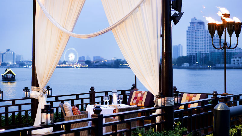 Private Dining by Design Pier option at the Anantara Riverside Bangkok Resort
