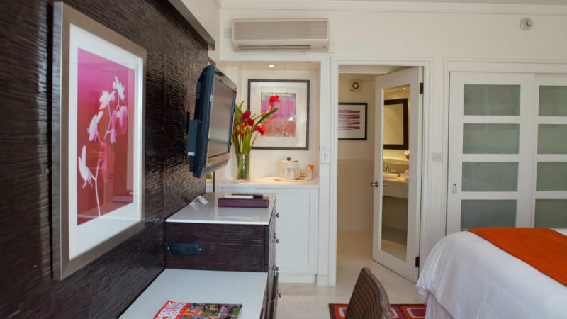 The Garden View room at the Crystal Cove by Elegant Hotels