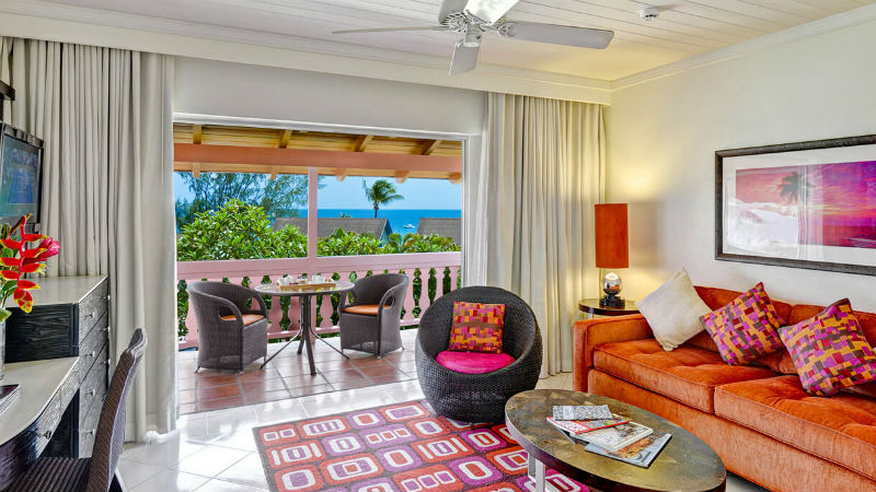 The Garden View Junior Suite at the Crystal Cove by Elegant Hotels
