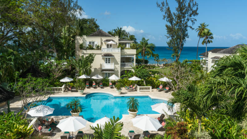 Hotel with pool view, Coral Reef Club Barbados