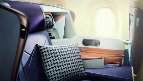 New Business Class Seat reviewed on the Singapore Airlines A380