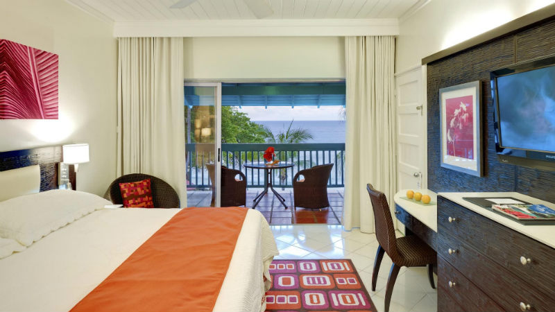 The Ocean View room at the Crystal Cove by Elegant Hotels