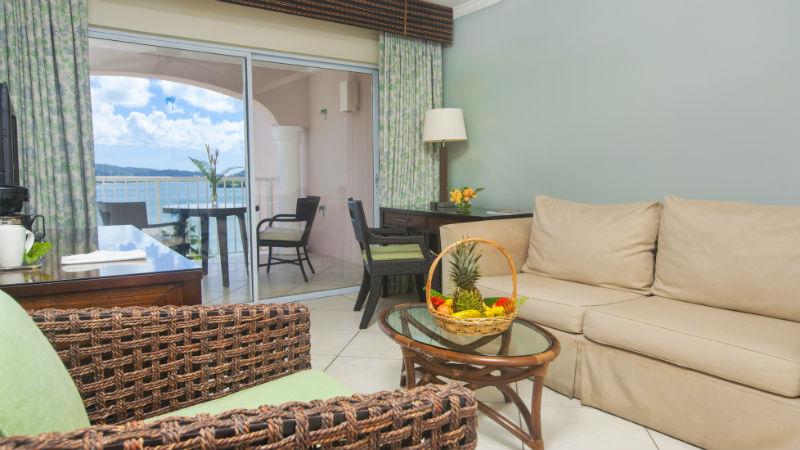 One Bedroom Ocean view Suites at the StJames Club Morgan Bay