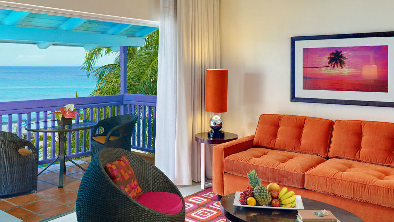 The One Bedroom Suite Ocean View at the Crystal Cove by Elegant Hotels