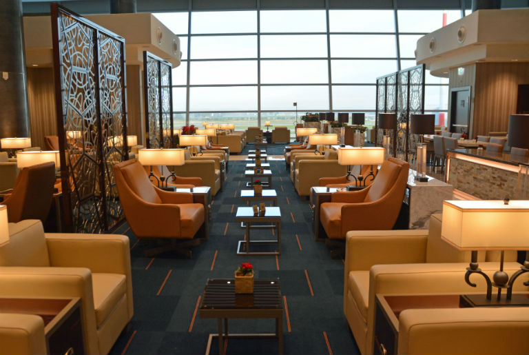 The Rome Emirates lounge