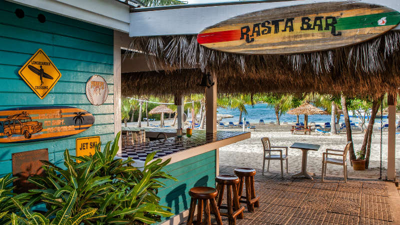 The Rasta Bar at The Verandah Resort and Spa