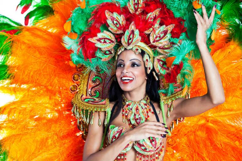 Rio dancer for Carnival Rio de Janeiro