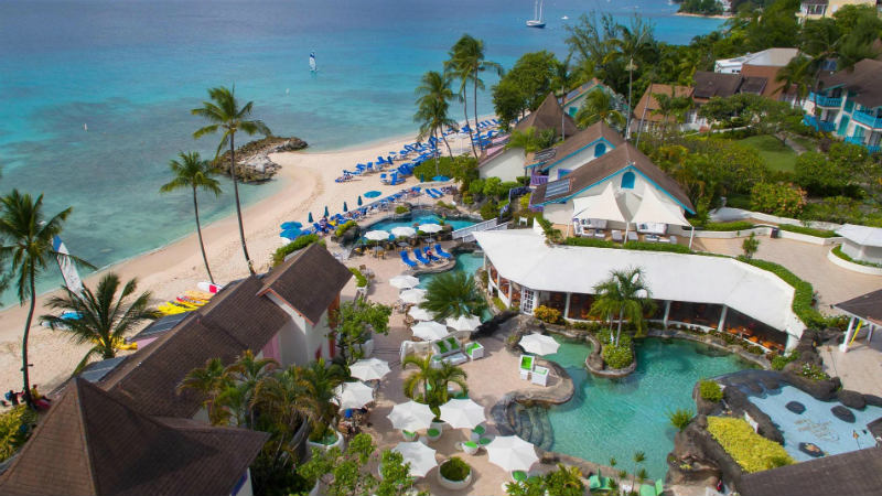 Overview of the resort at the Crystal Cove by Elegant Hotels