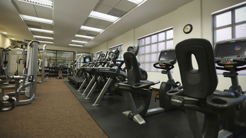 Gym at the Grand Residences Riviera Cancun