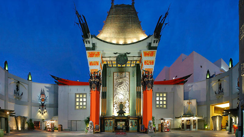 Chinese Theatre close to the Loews Hollywood