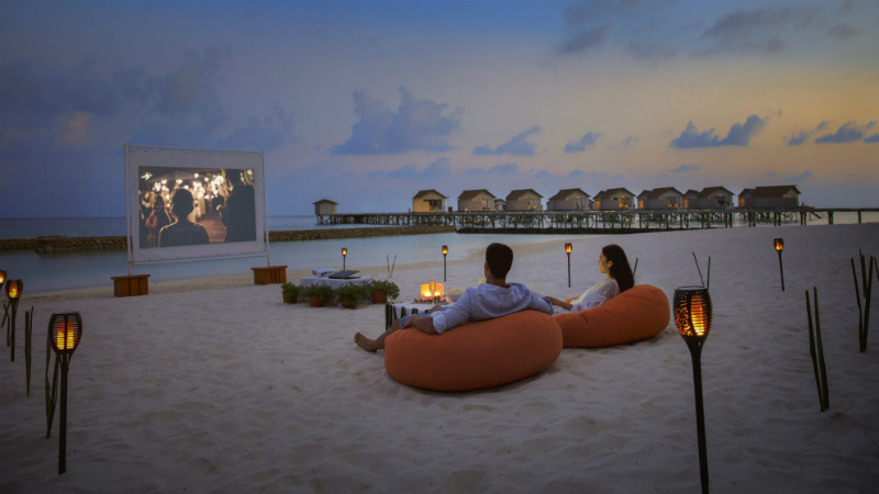 Beach Cinema - Centara Ras Fushi Resort and Spa Maldives